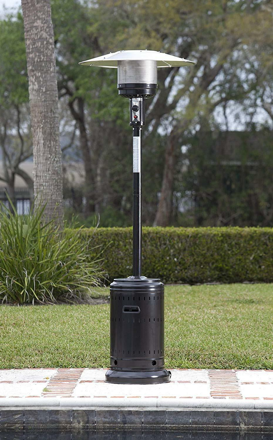 New AmazonBasics Patio Heater, BTU