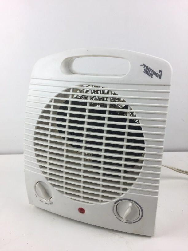 Comfort Zone CZ35 Compact 1500 Watt Portable Fan Space Heate