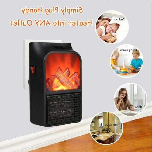 Mini Heater Fan for Home Small With