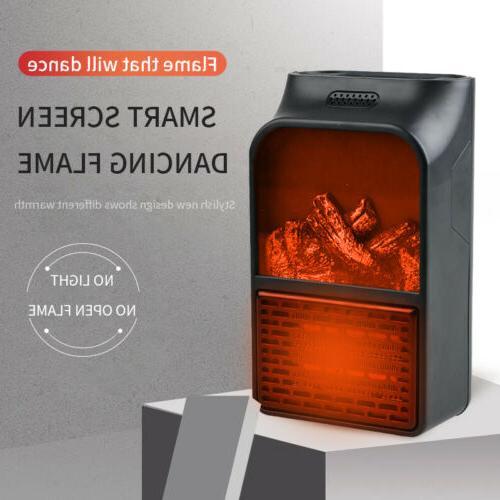 Portable With Fan Desk Heater