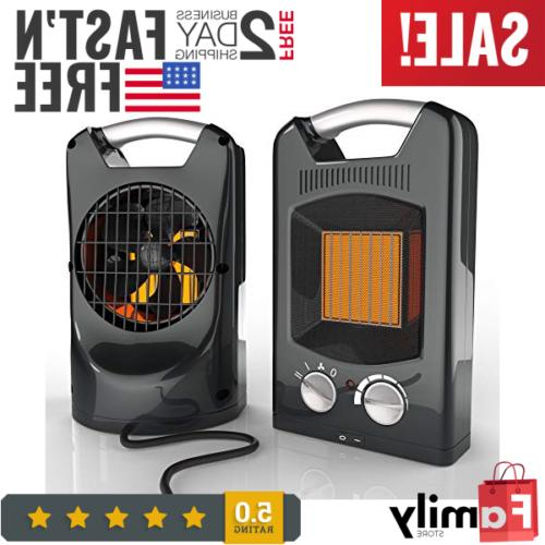 new royal 1500w quiet ceramic space heater