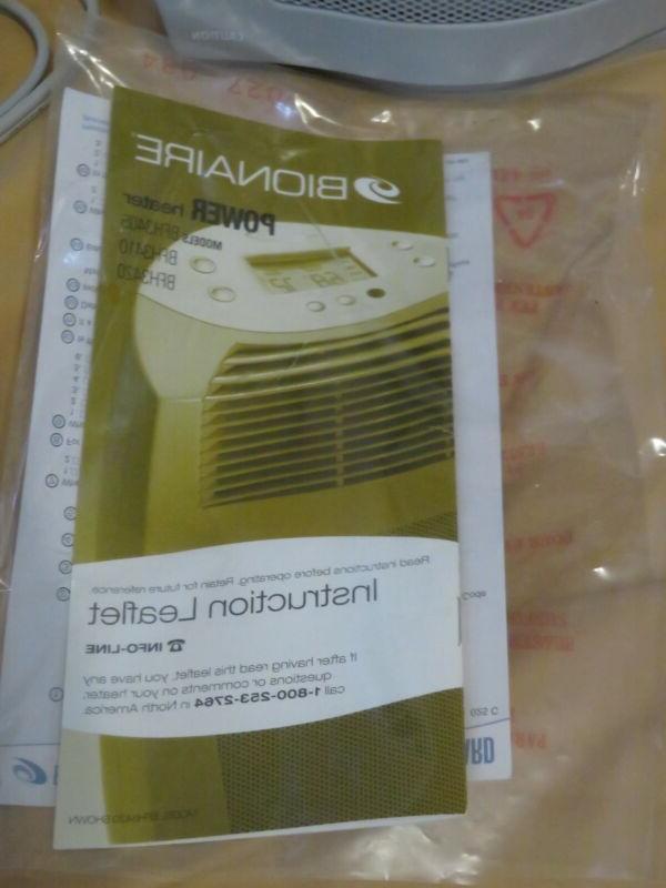 New Power Heater Fan Oscillating BFH3420-U