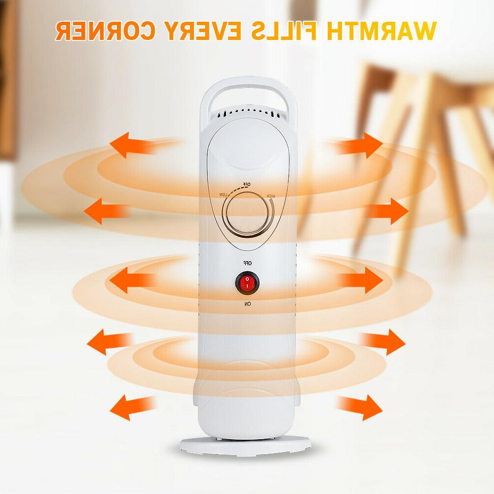 Oil Radiator Portable Space Safety Indoor