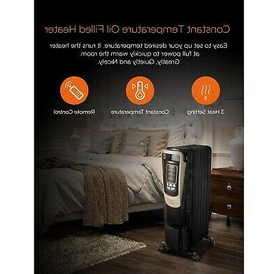 Pelonis Oil Portable Space Programmable Thermostat