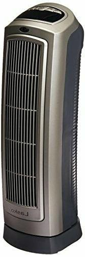 Lasko Oscillating Ceramic Heaterz, Model 755320, 1 ea