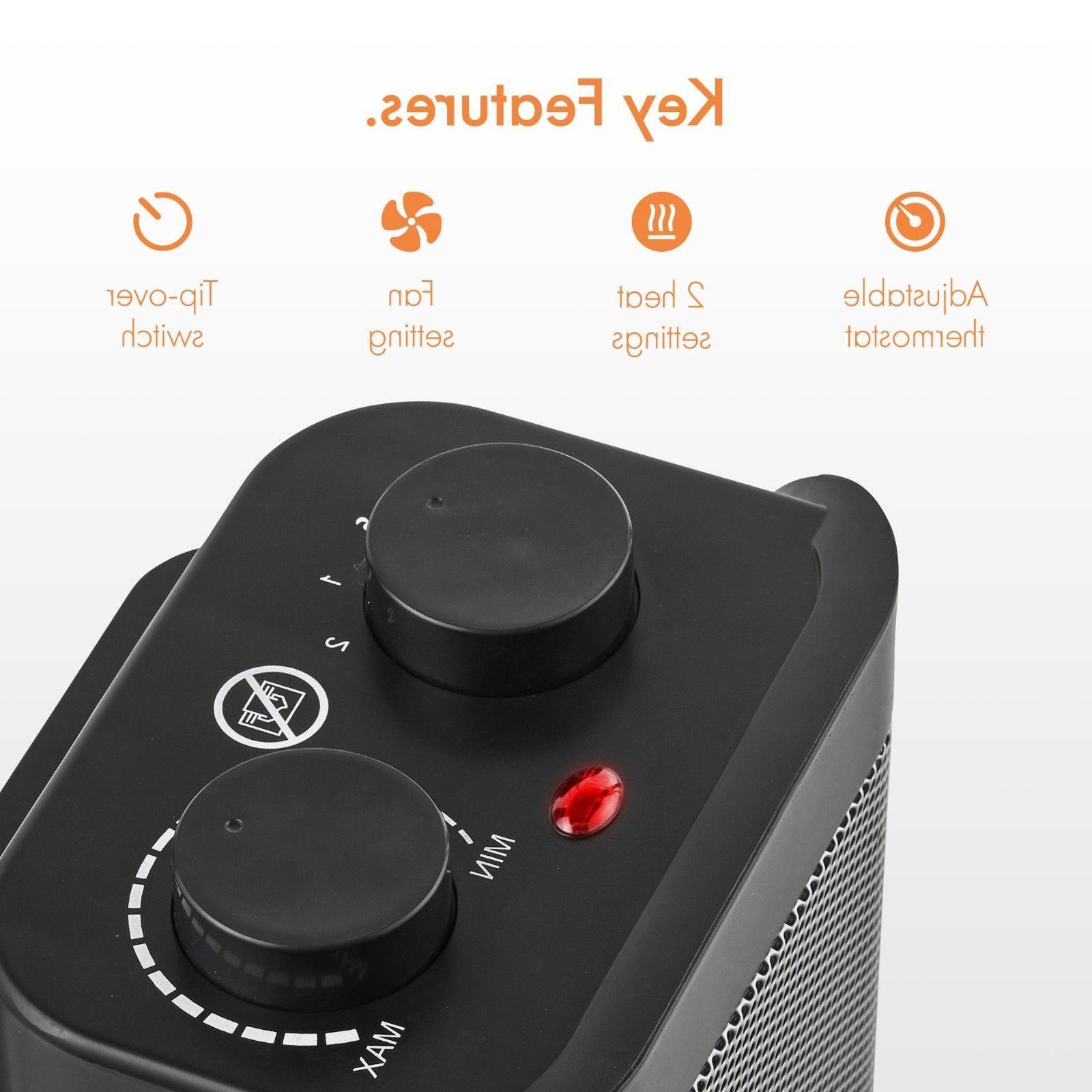 VonHaus Electric Ceramic Space Heater Heater -1500W