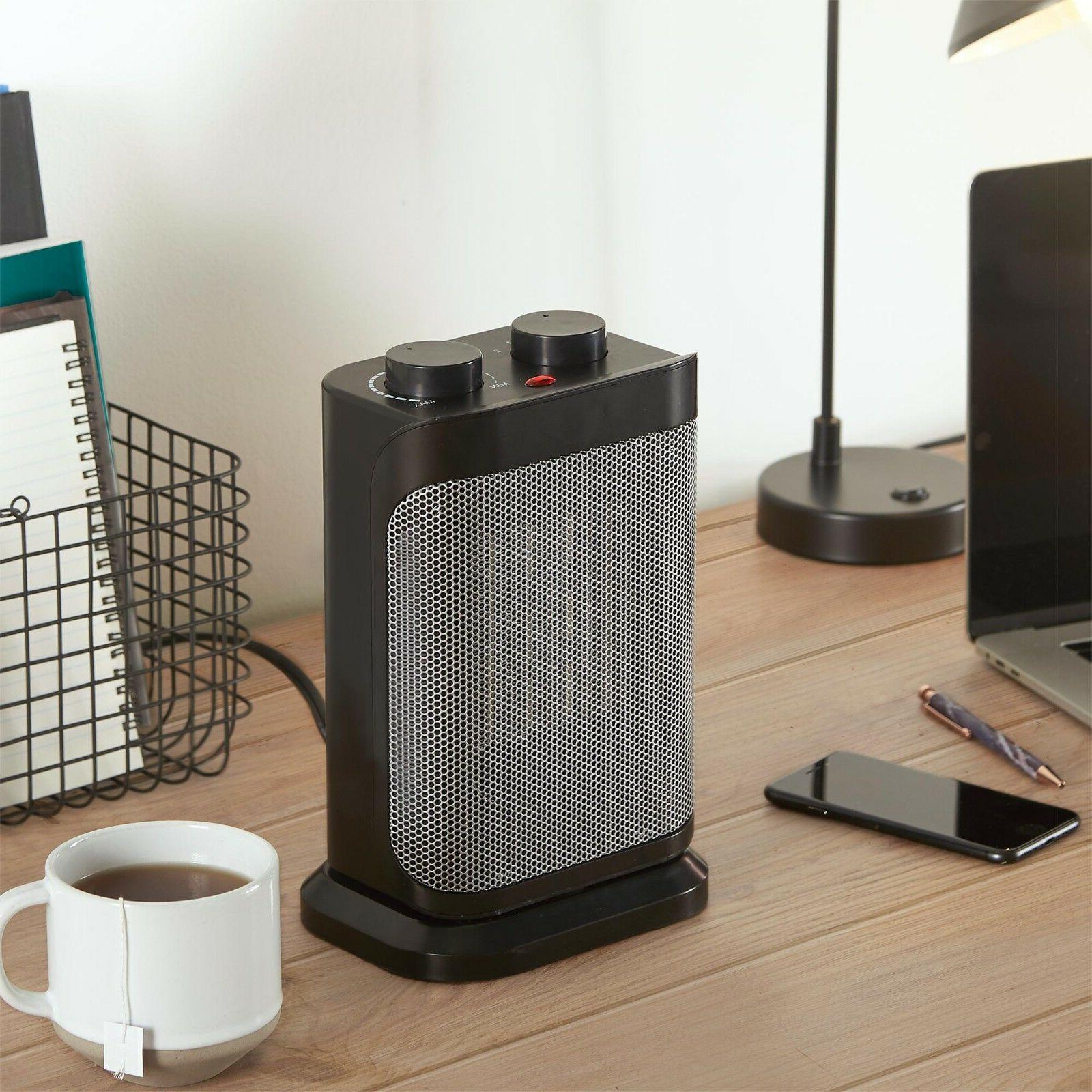 VonHaus Oscillating Electric Ceramic Space Fan Heater -1500W