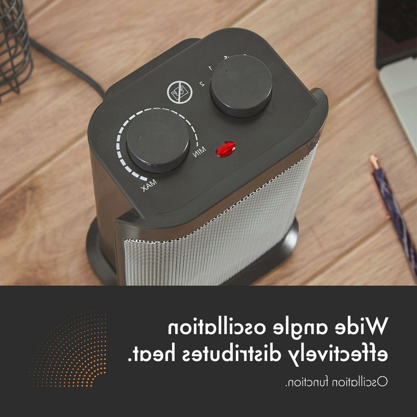 VonHaus Heater Ceramic Space Heater -1500W