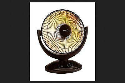 parabolic heater black