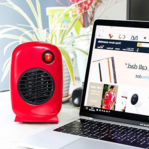 Brightown Heater for Office Desktop Table Dorm, 250-Watt Safe