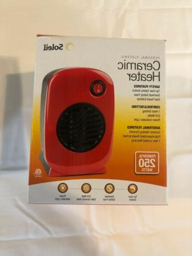 personal electric small portable ceramic space heater