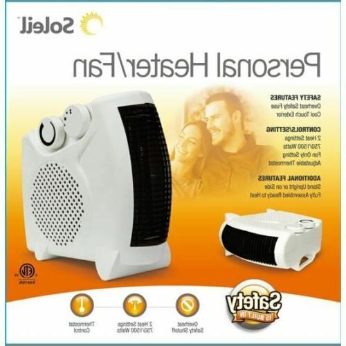 Soleil Heater Fan 750W/1500W Portable Heating