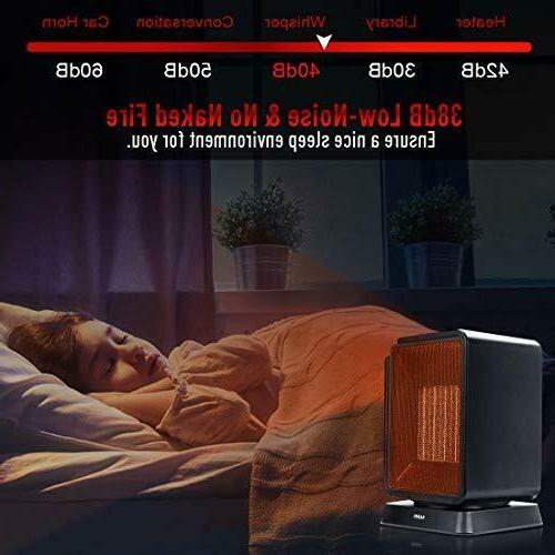 Personal Heater Electric Mini Winter Office Home Room