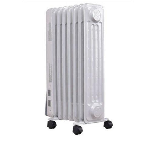 1500W Oil Radiator Space Heater 7-Fin Thermostat Radiant US