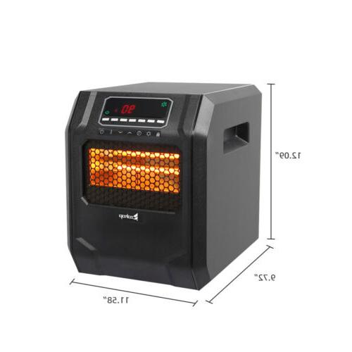 Digital Quartz Infrared Dual Heater