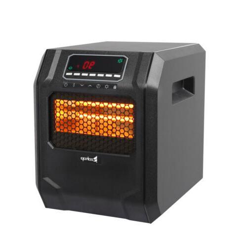 Portable1500W Electric Digital Quartz Infrared Dual Heater