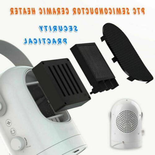 Portable House Room Office Warmer Fan Mini Air Heater US