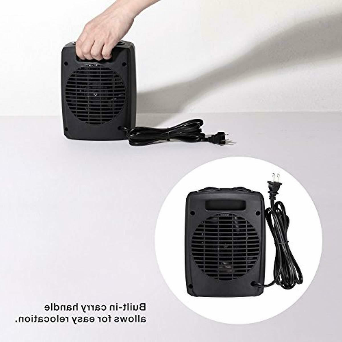 andily Space Heater for Office Indoor Adjusta