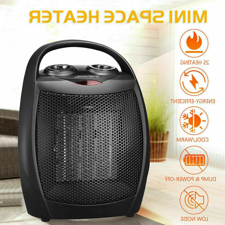 portable ceramic space heater mini 1500w electric