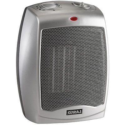 Lasko Portable Ceramic Space Heater with Adjustable Thermost