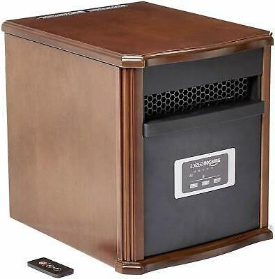AmazonBasics Portable Eco-Smart Heater - Black