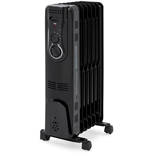 portable electric energy efficient radiator