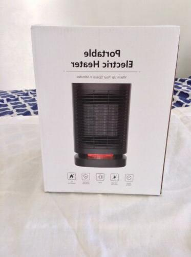 portable electric heater ceramic space fan quiet