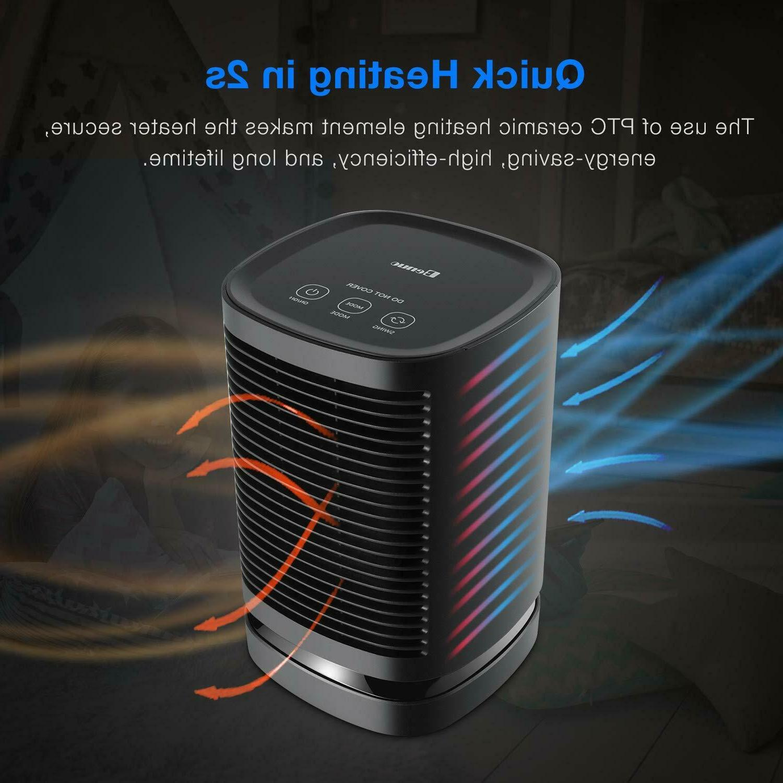 Portable Heater Ceramic Fan Quiet