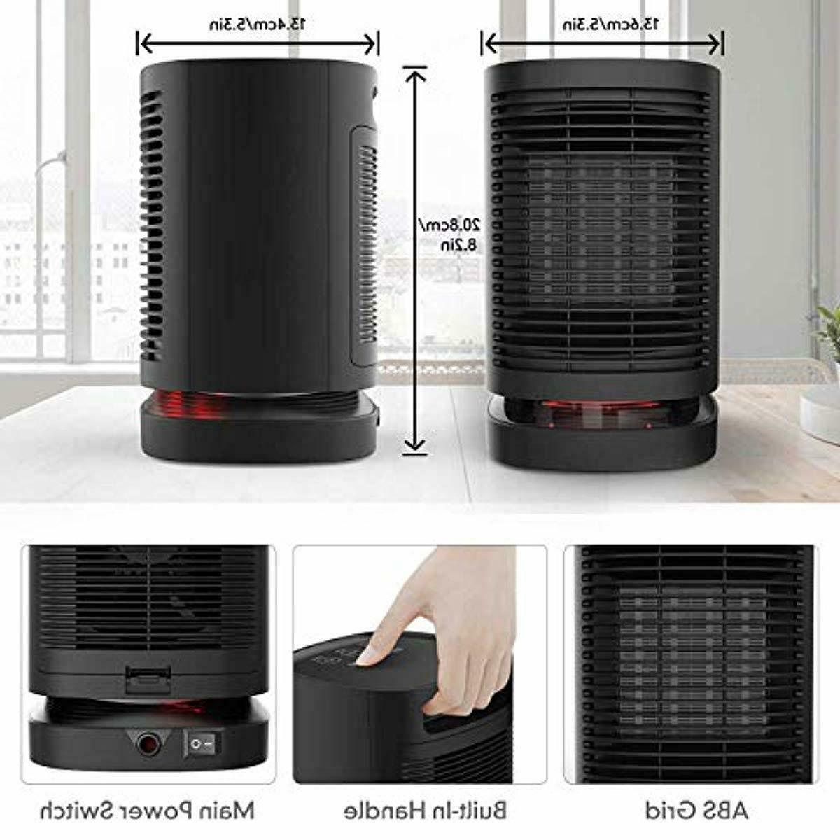 Portable Space Heater, Electric Air PTC Fan H