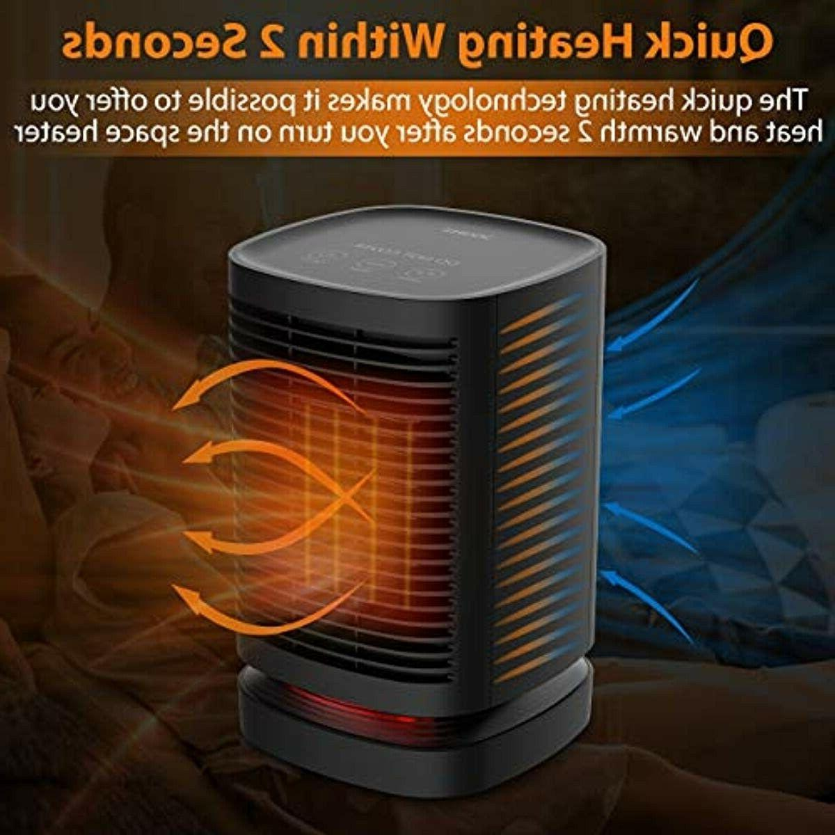 DOUHE Space Heater, 950W Smart Touch Control Space Osc