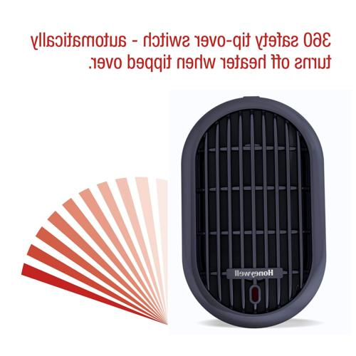 Portable Hot Room Office Thermostat Small Heating Fan