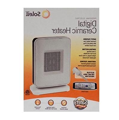 ptc 910b sole digital ceramic heater
