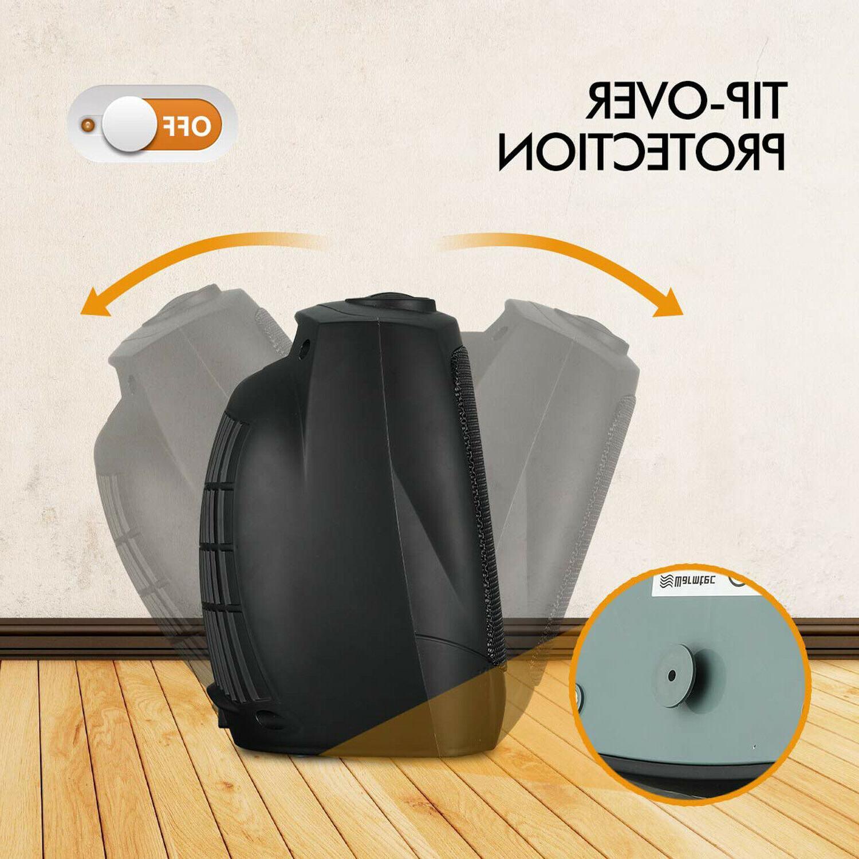Portable Ceramic Mini 1500W Thermostat Fan