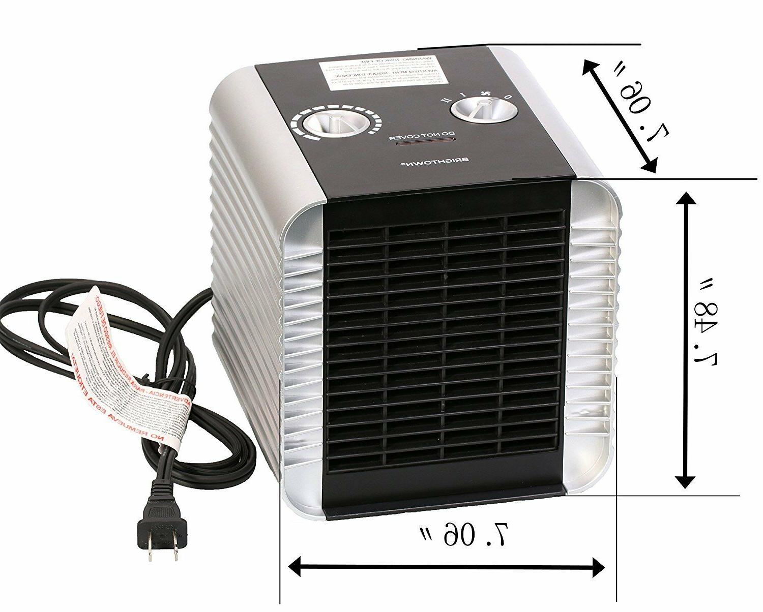 Quiet 750W/1500W ETL with Adjustable