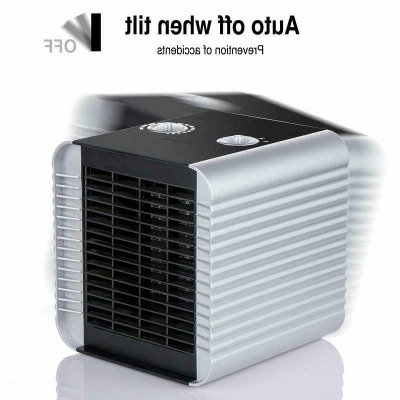 Quiet Heater With Adjustable Thermostat Electric