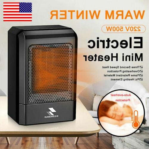Portable MINI Ceramic Space Heater For Office Desk Heater Ho