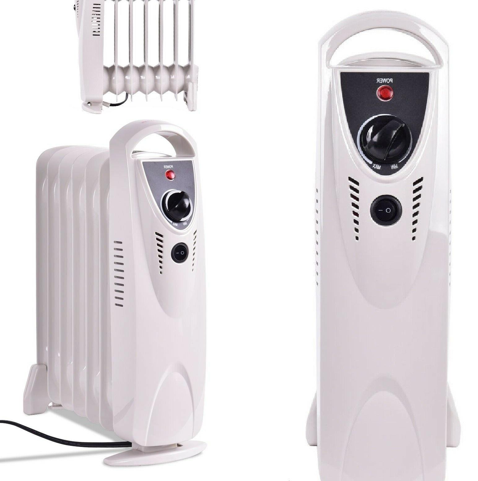 small space heater white electric radiator portable