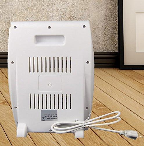 #1 Smart 800 Quartz Heater Table Heat Royal Tipover Protection