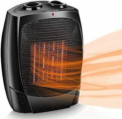 Air Choice Space Heater 1500W Portable Electric Heater, Up t