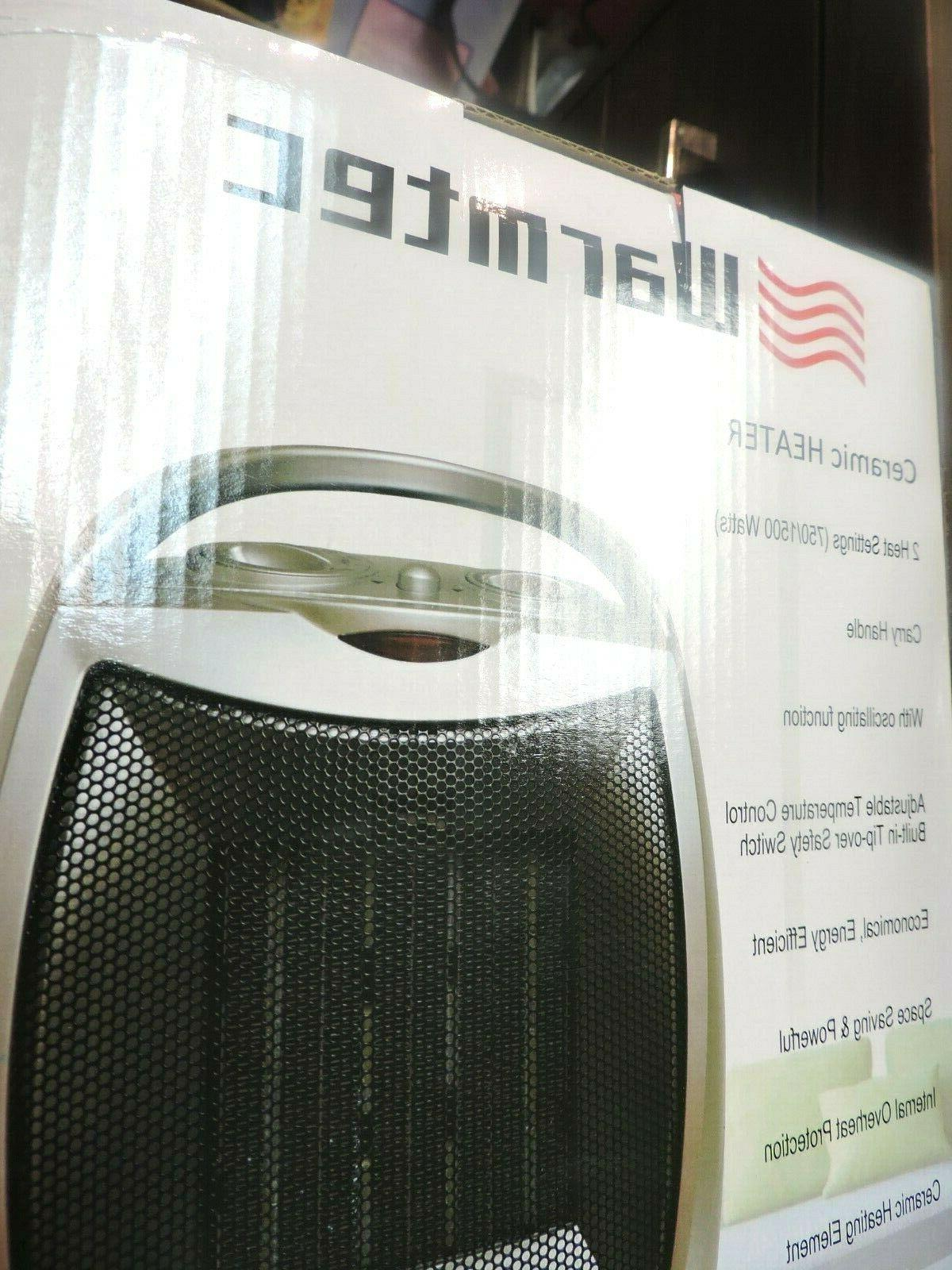 Space 750W/1500W Listed Oscillating Quiet