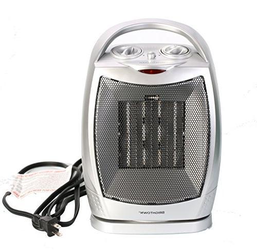 space heater 750w 1500w oscillating