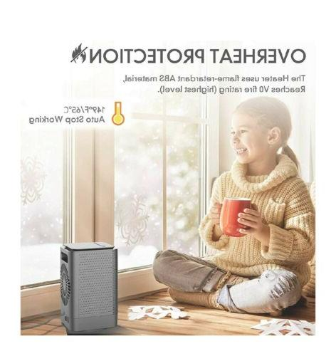 DOUHE Electric Heaters for Office,