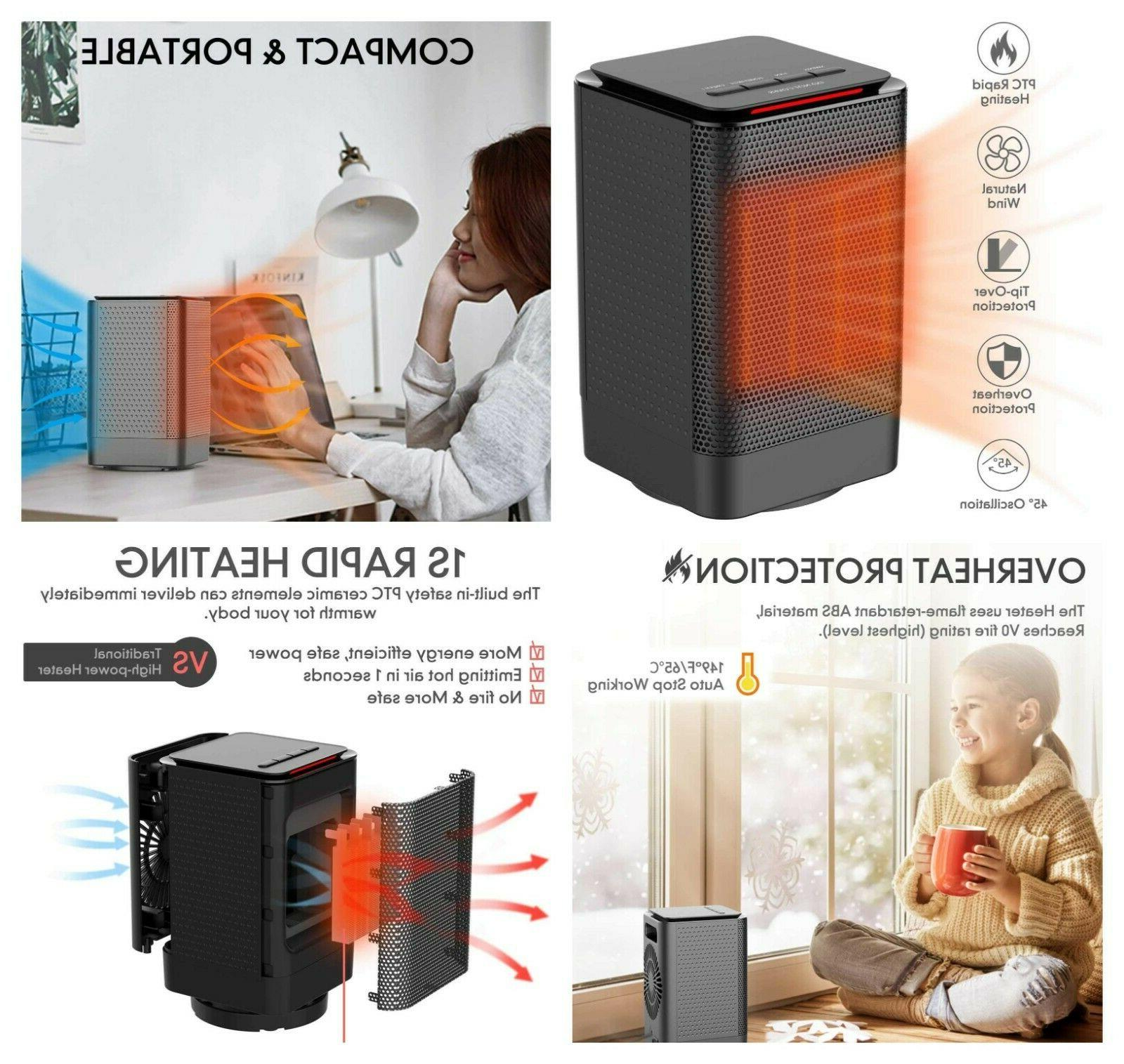 space heater portable electric ceramic heaters