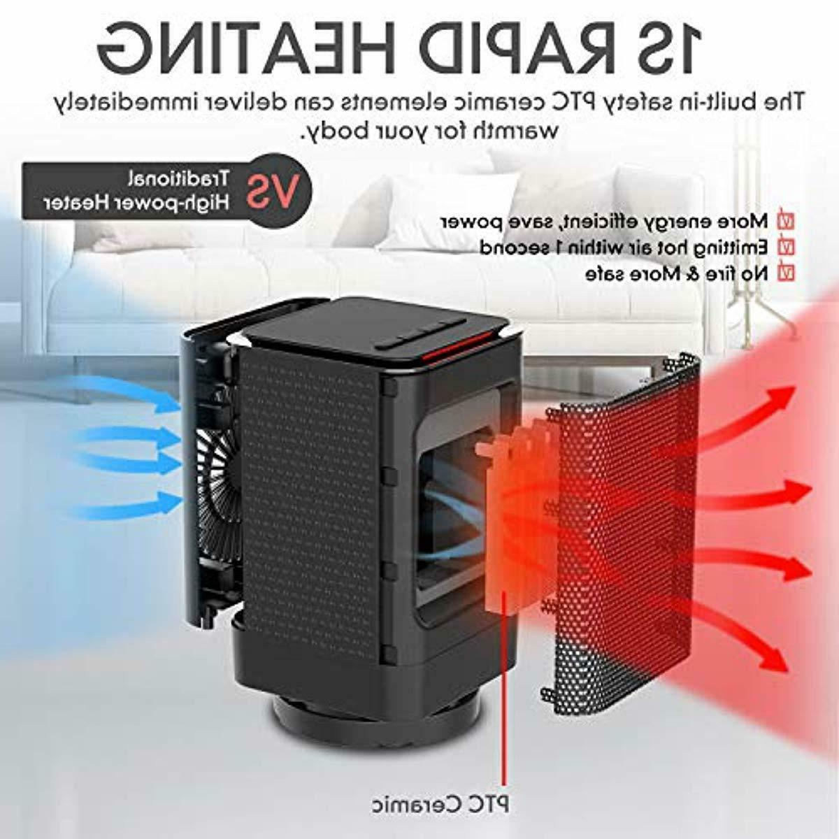 DOUHE Space Heater Portable Electric Ceramic Heaters for Off