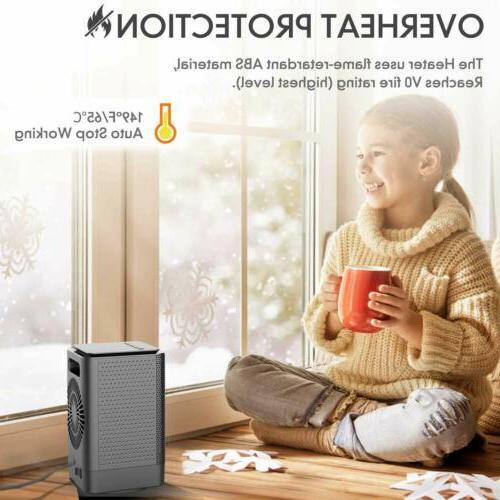DOUHE Space Ceramic Heaters,Personal Heaters Under Desk