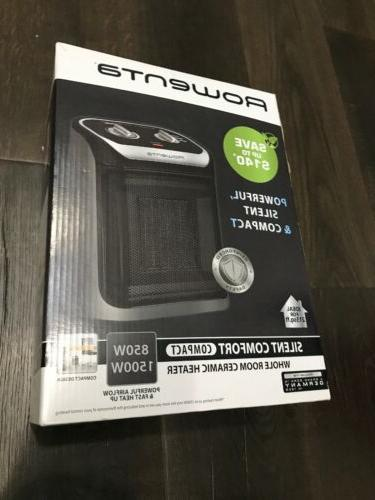 Rowenta Heater with Cool-Touch Black