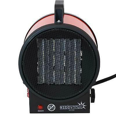 Sunnydaze Portable Space Heater Shutoff 1500W/750W