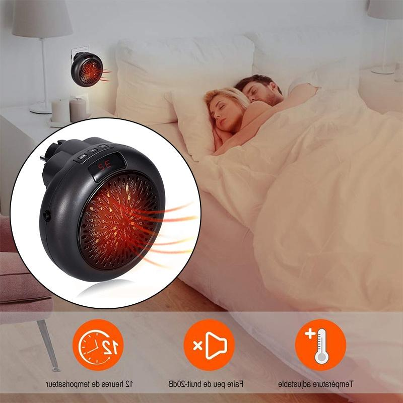 Top Electric <font><b>Heater</b></font> Plug-In Personal <font><b>Space</b></font> <font><b>Heater</b></font> Heating Anywhere Th