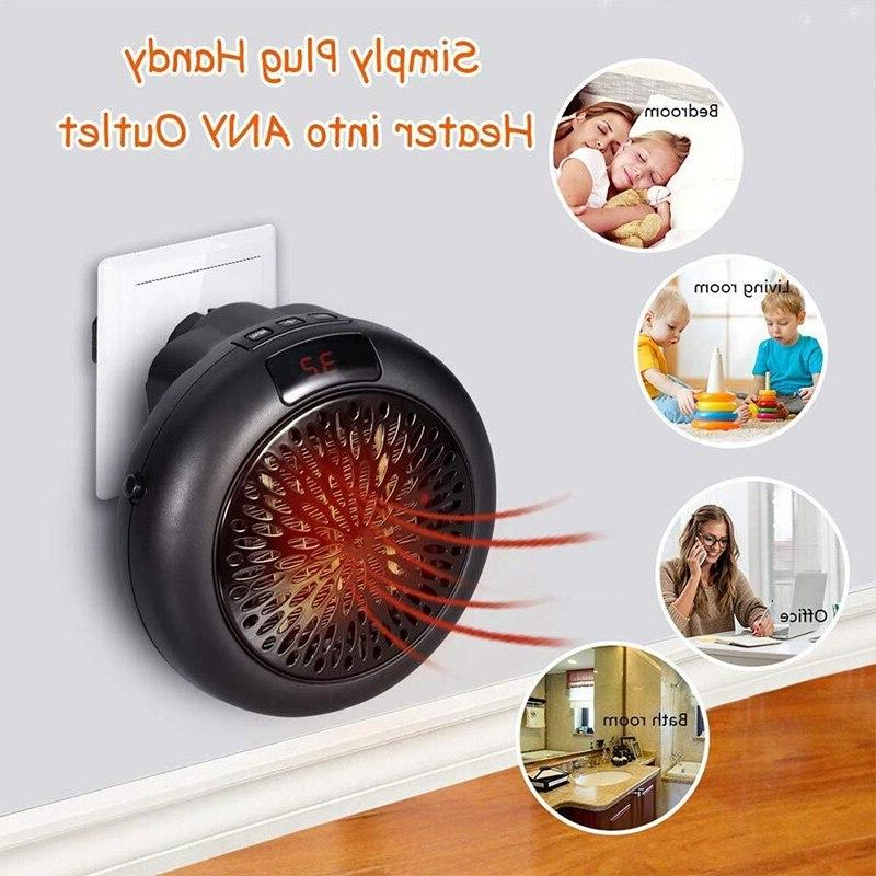 Top Electric Wall-Mounted <font><b>Heater</b></font> Portable Personal <font><b>Indoor</b></font> Th