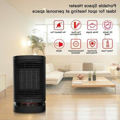 950W Electric Space Heater Indoor Room Fast Quiet Heating Ce